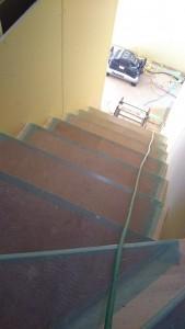 岐阜市のYさま邸は、階段が出来てきましたよ~!