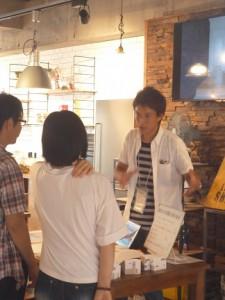 高知からの強力な助っ人、タイセイホームの清岡さん